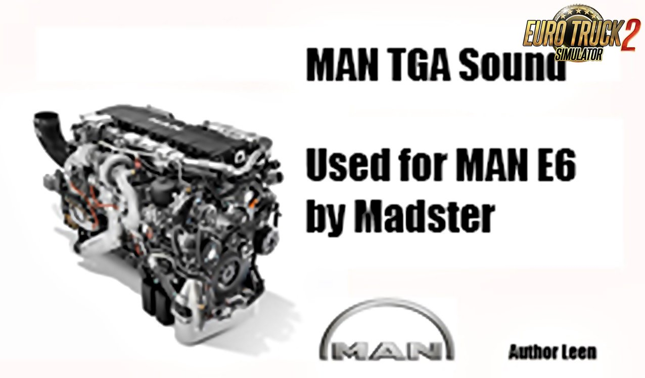 MAN sound Euro 6 by Madster [1.33.x]