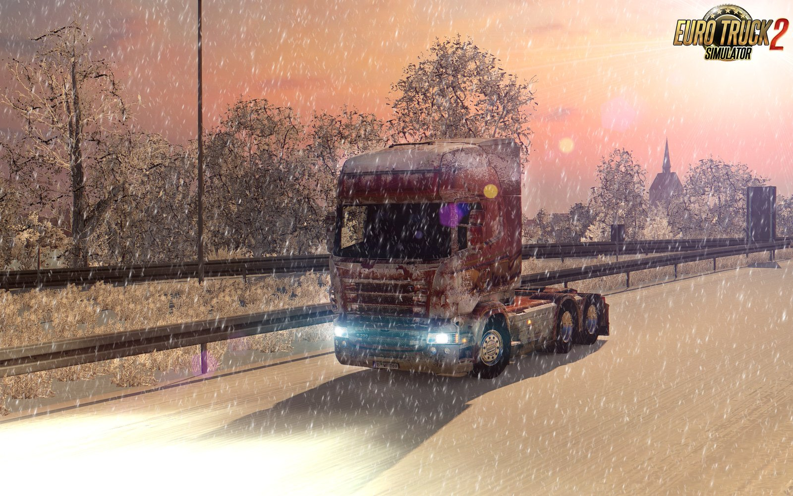 Snow Skin for Scania RS(RJL) [1.33.x]