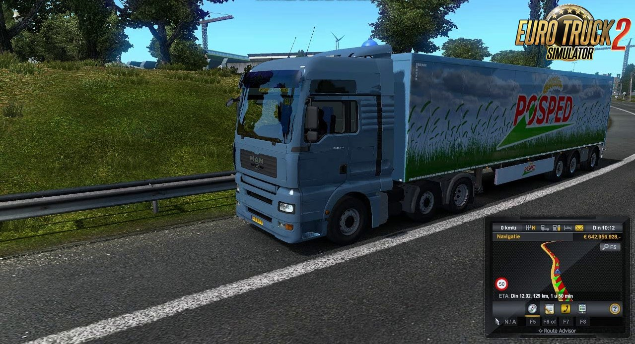 MAN TGA TGX sound for MAN trucks by SCS and Madster [1.33.x]