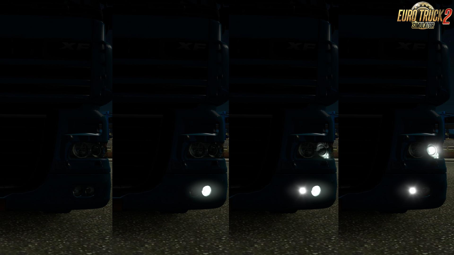 DRL for DAF XF 105-TUNING MOD [1.33.X]