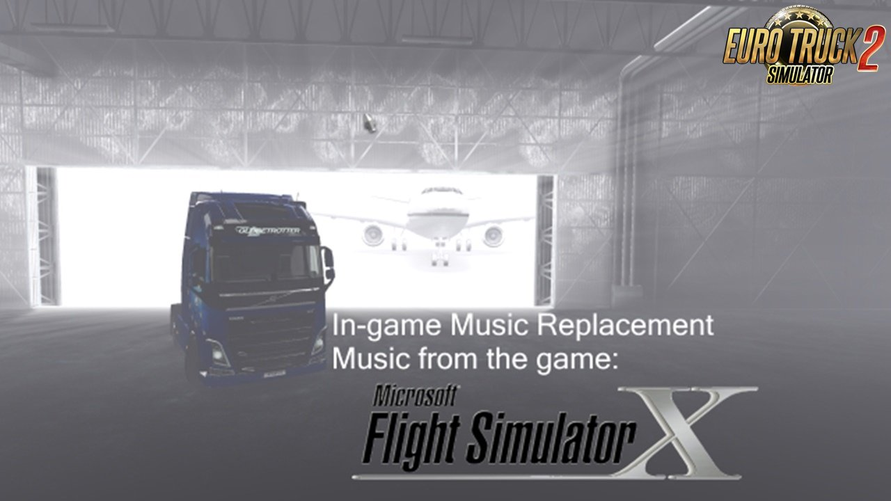 In-game Music Replacement for Ets2