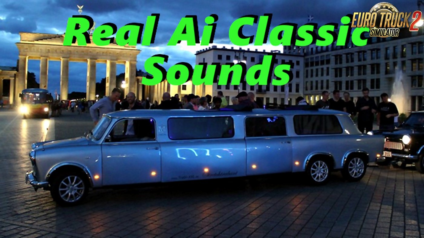 Sounds for Classic Cars Traffic Pack v2.9 by TrafficManiac