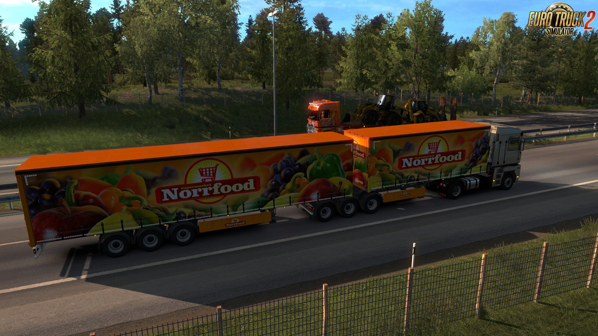 Multiple Trailers in Traffic v4.1 for Ets2