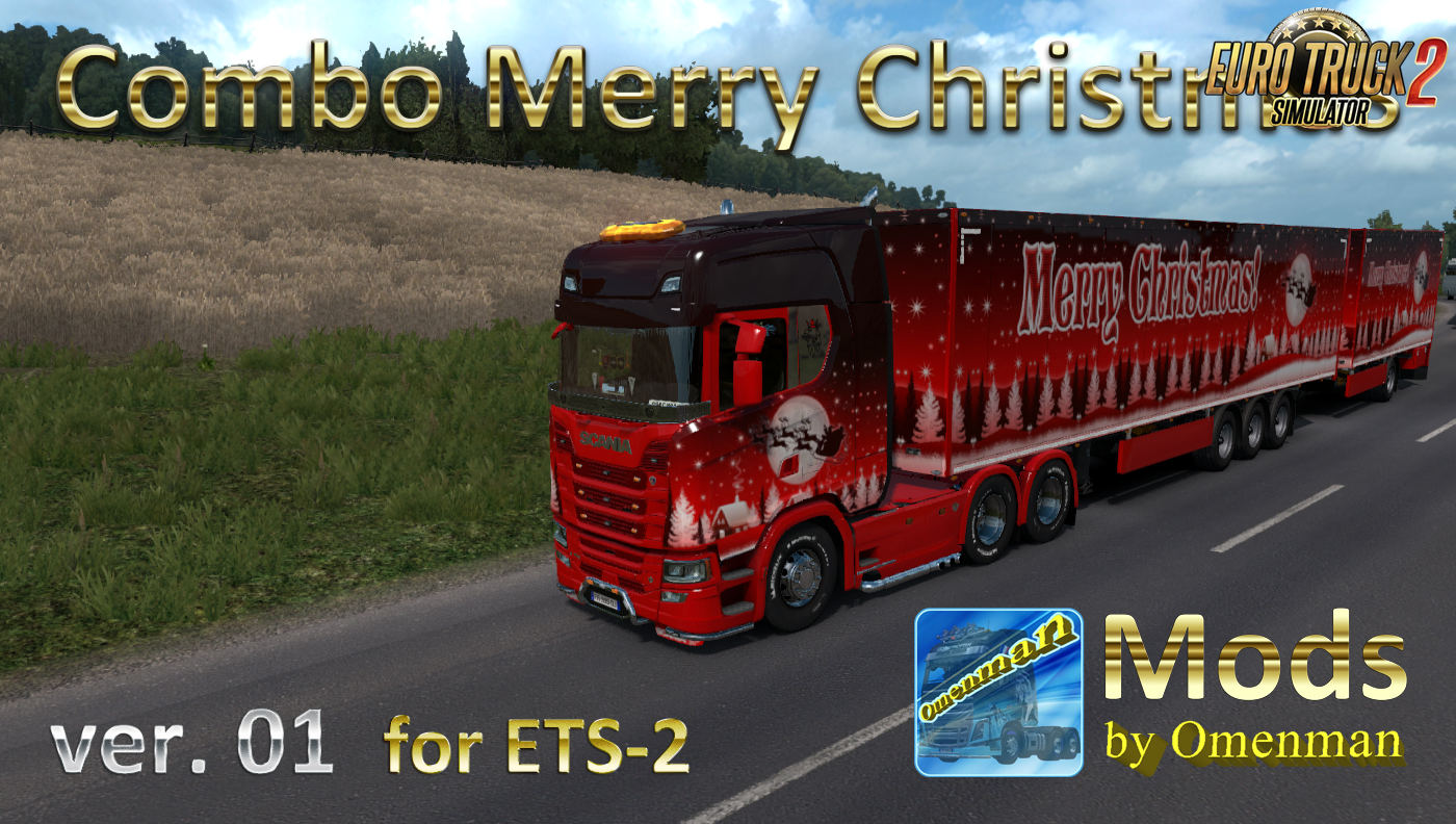 Combo Merry Christmas v.01 for Ets2