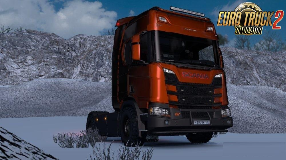 Accessories for Scania Next gen v1.1