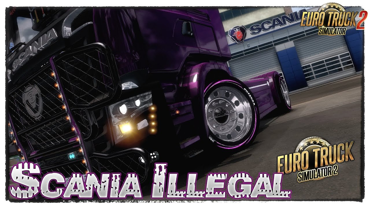 Scania R700 Illegal V8 v1.0 Reworked by Mehdi Nobakht (1.33.x)