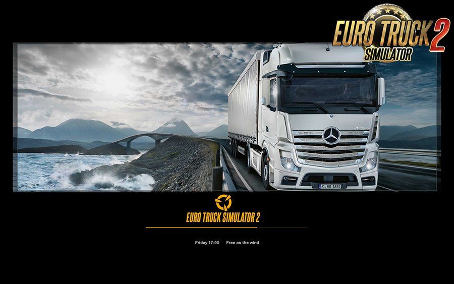 New Photo Loading Screens Mod for Ets2