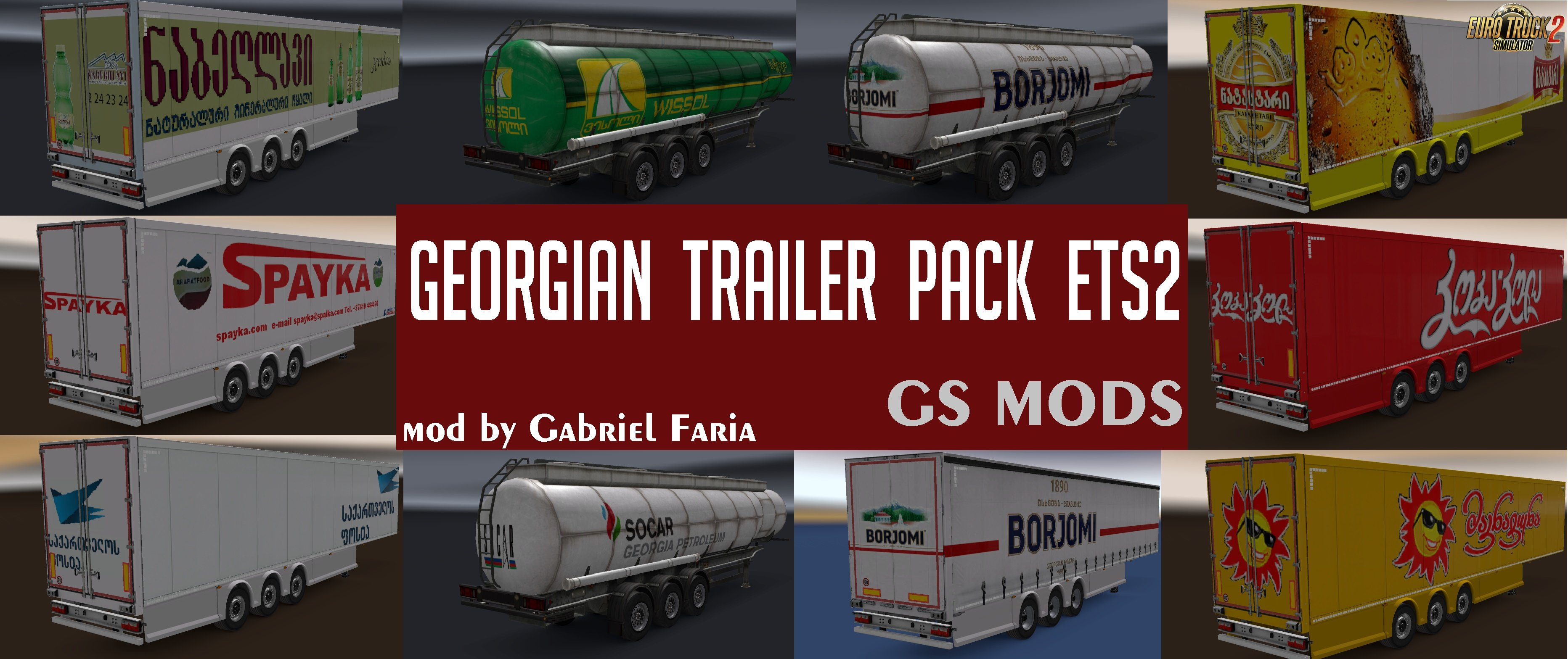Georgian Trailer Pack for Ets2