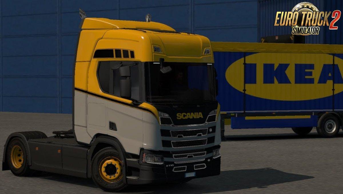 Realistic Sound Scania R&S Mod v1.0 by gelbero