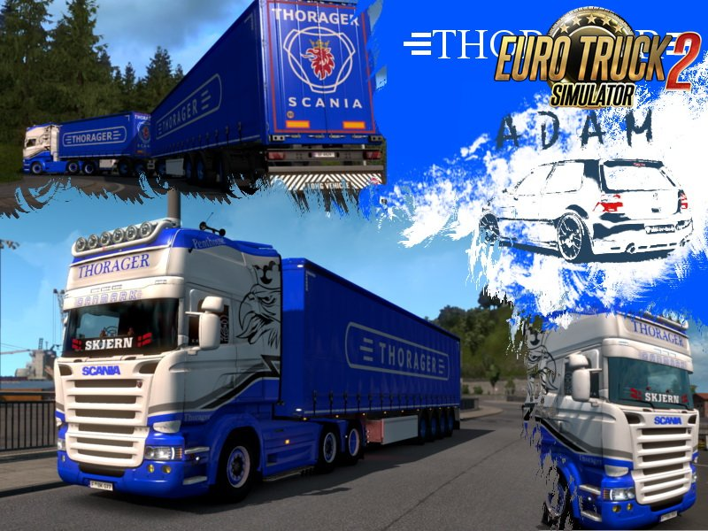Combo Skin Pack Thorager v1.0 by Adam z Gólfa (1.33.x)