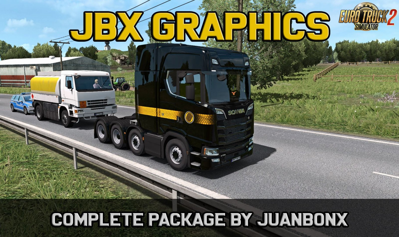 JBX Graphics - Complete Package by JuanBonX