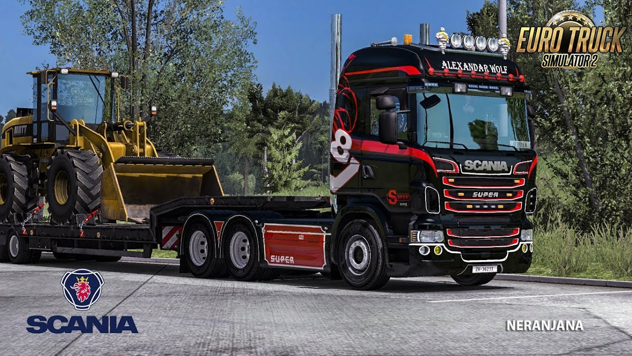Scania 6 in Line: sound for R and Streamline v1.3