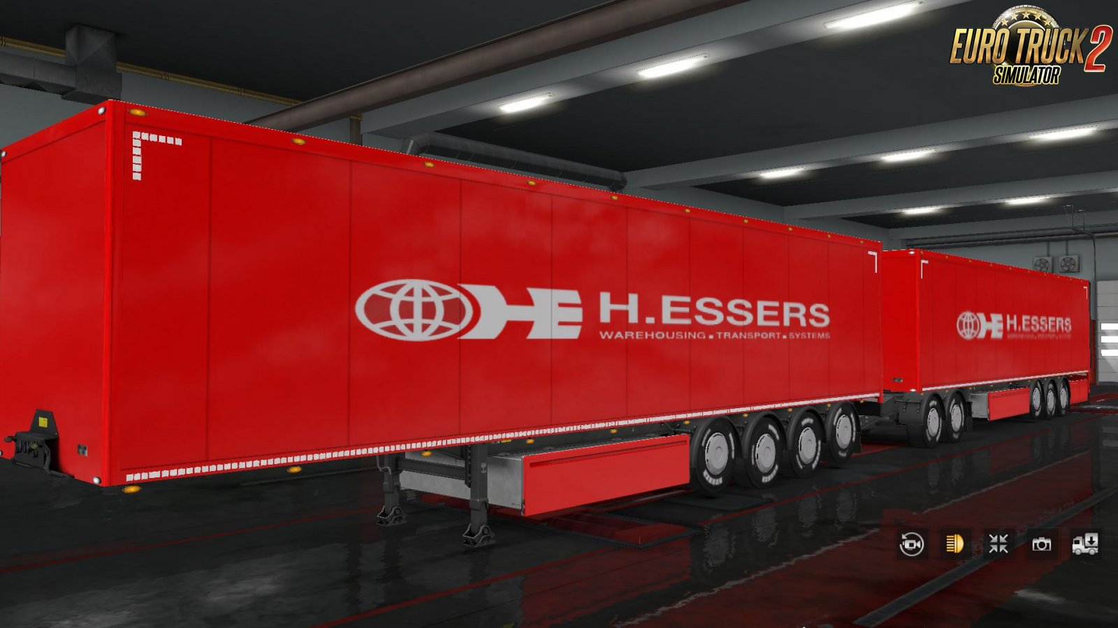 ALEXD H.ESSERS Trailer Skin for Ets2