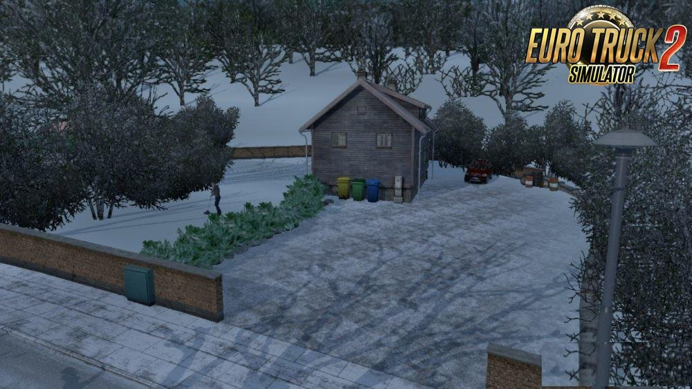 Simple House in Oslo v1.0 for Ets2
