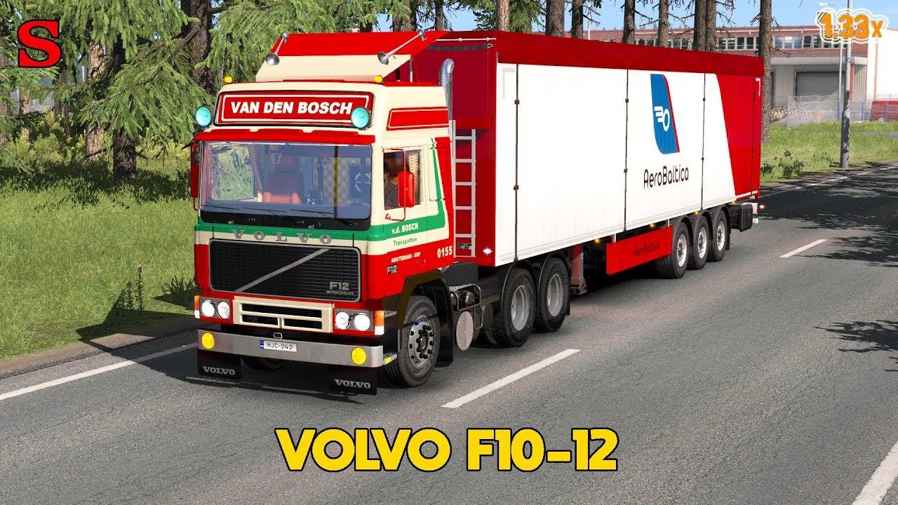VOLVO F10-12 [1.33x] - Euro Truck Simulator 2