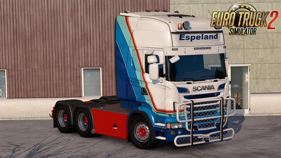 Scania RJL Espeland Skin v1.0 by Roman71 (1.33.x)