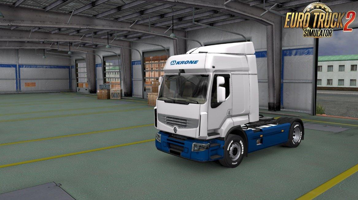 Krone Skins Pack for Trucks v3.0