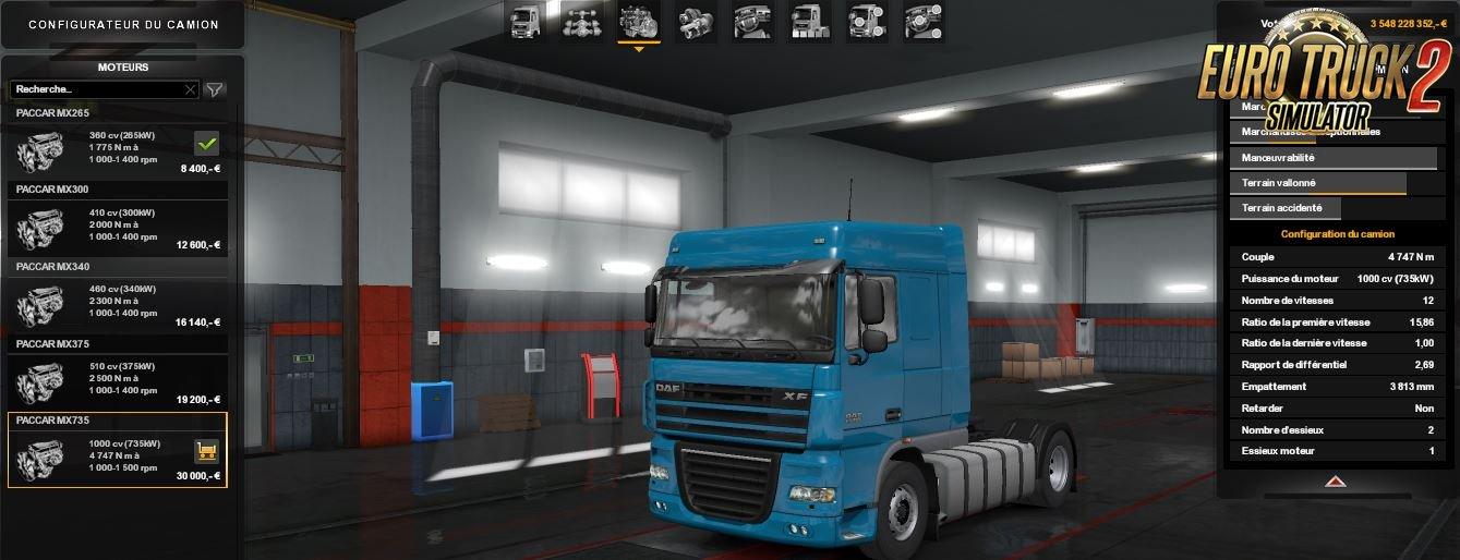 1000HP for all DAF trucks