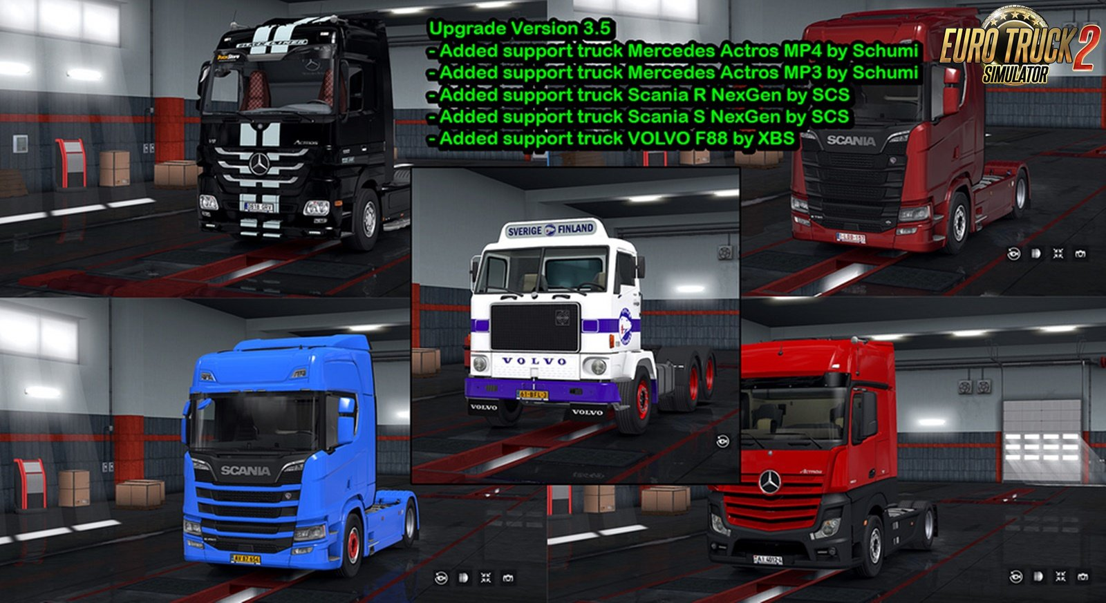 License Plate Pack for Modified Trucks v4.5