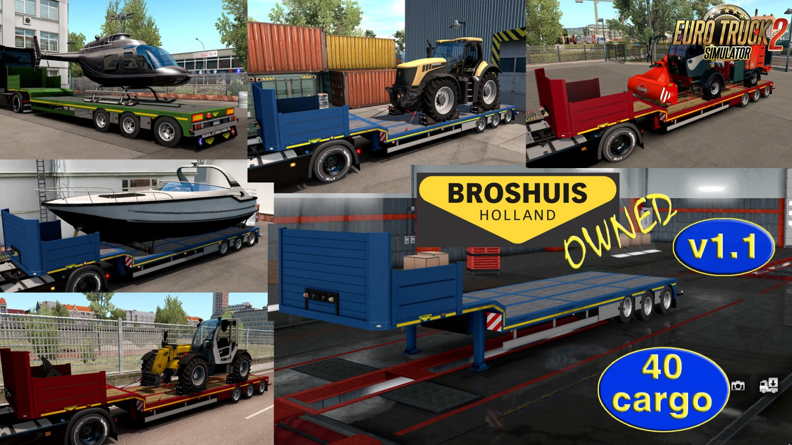 Ownable trailer Broshuis v1 1 by Jazzycat » ETS2 mods, SCS mods