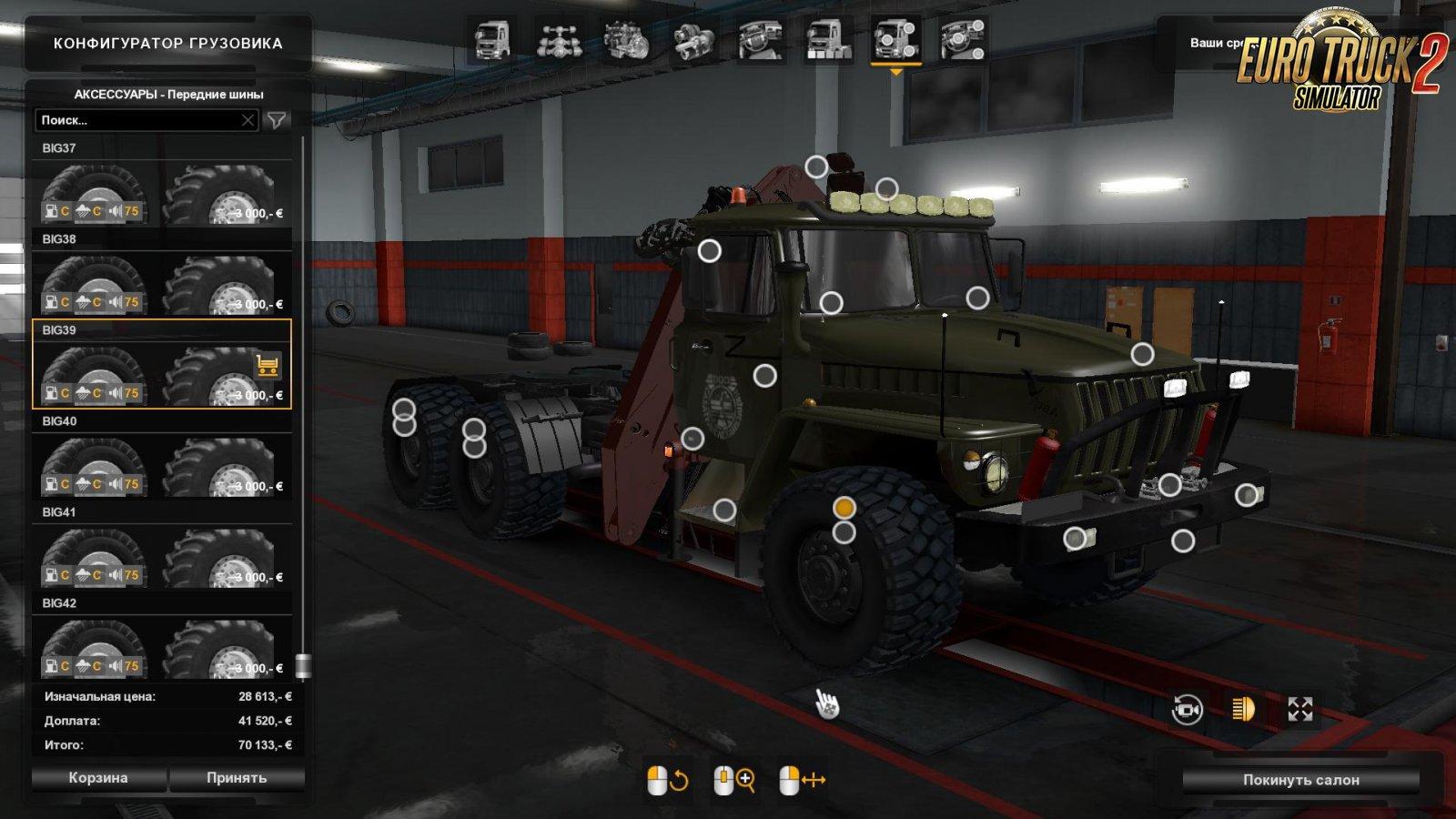 Ural 4320-43202 v6.0 for Ets2