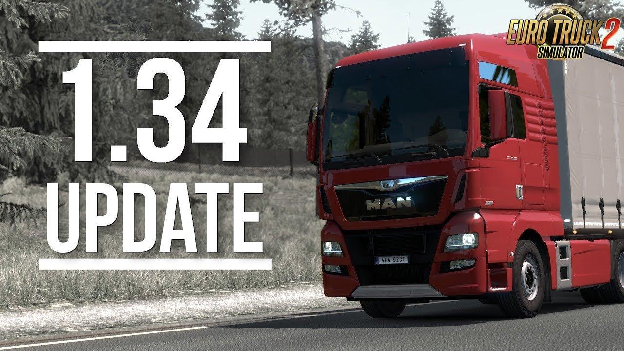 ETS2 Update 1.34 - Euro Truck Simulator 2