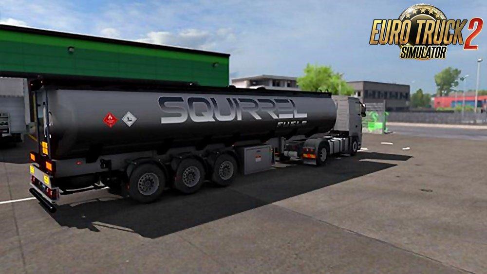 MAMMUT Tanker Trailers for Ets2