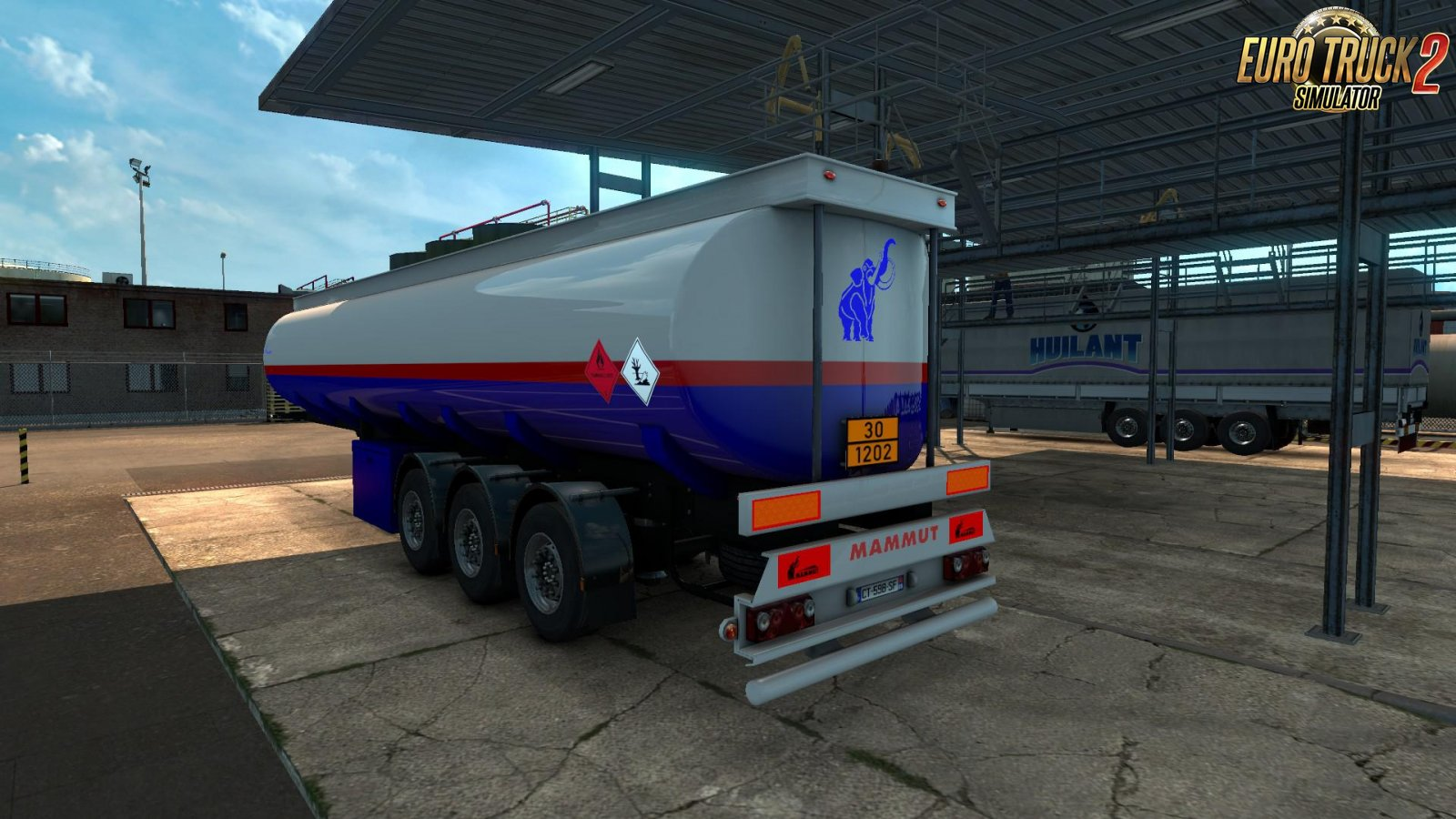 MAMMUT Tanker Trailers for Ets2