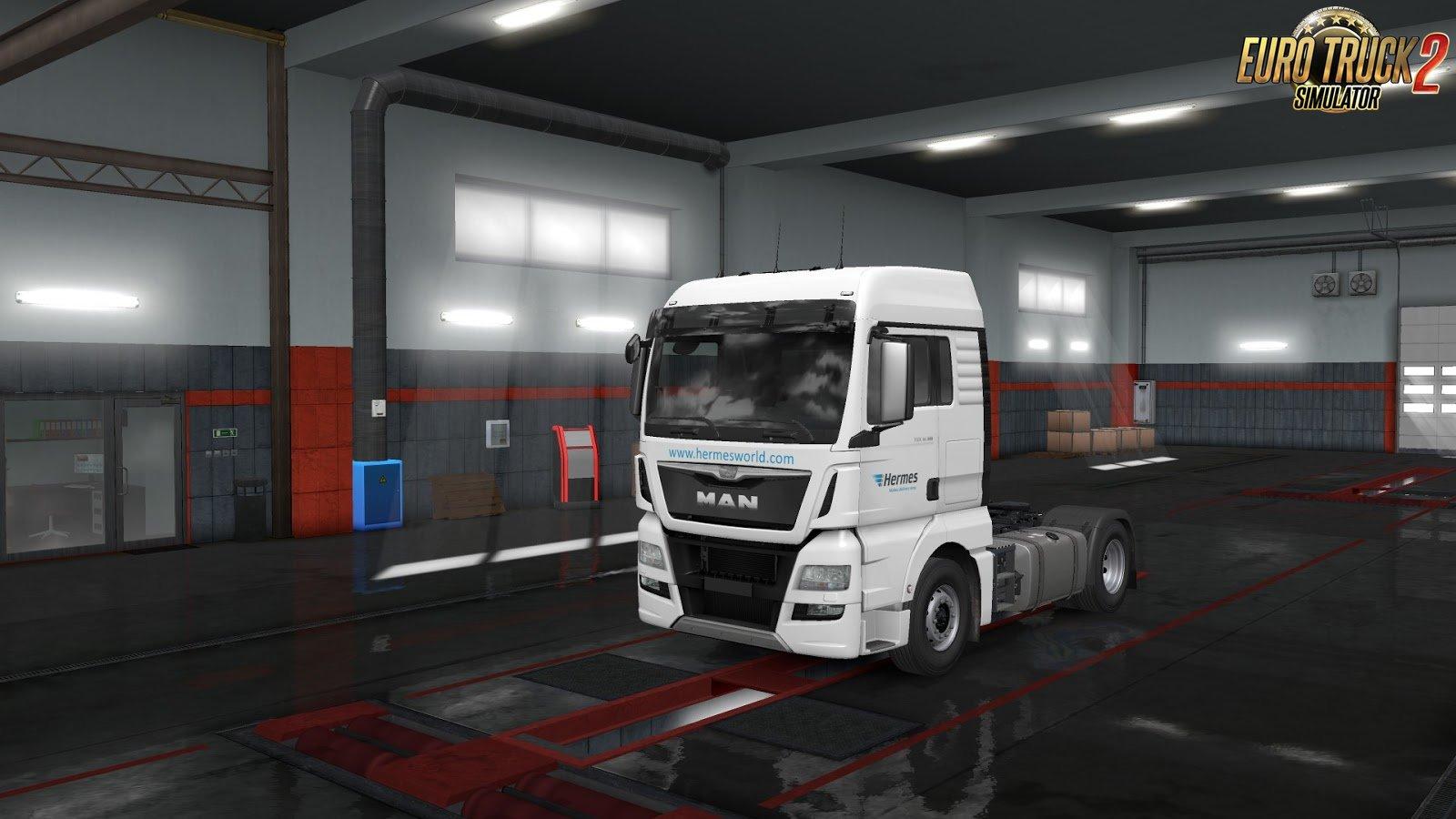 European Logistics Companies Paint Jobs Pack v1.1 for Ets2