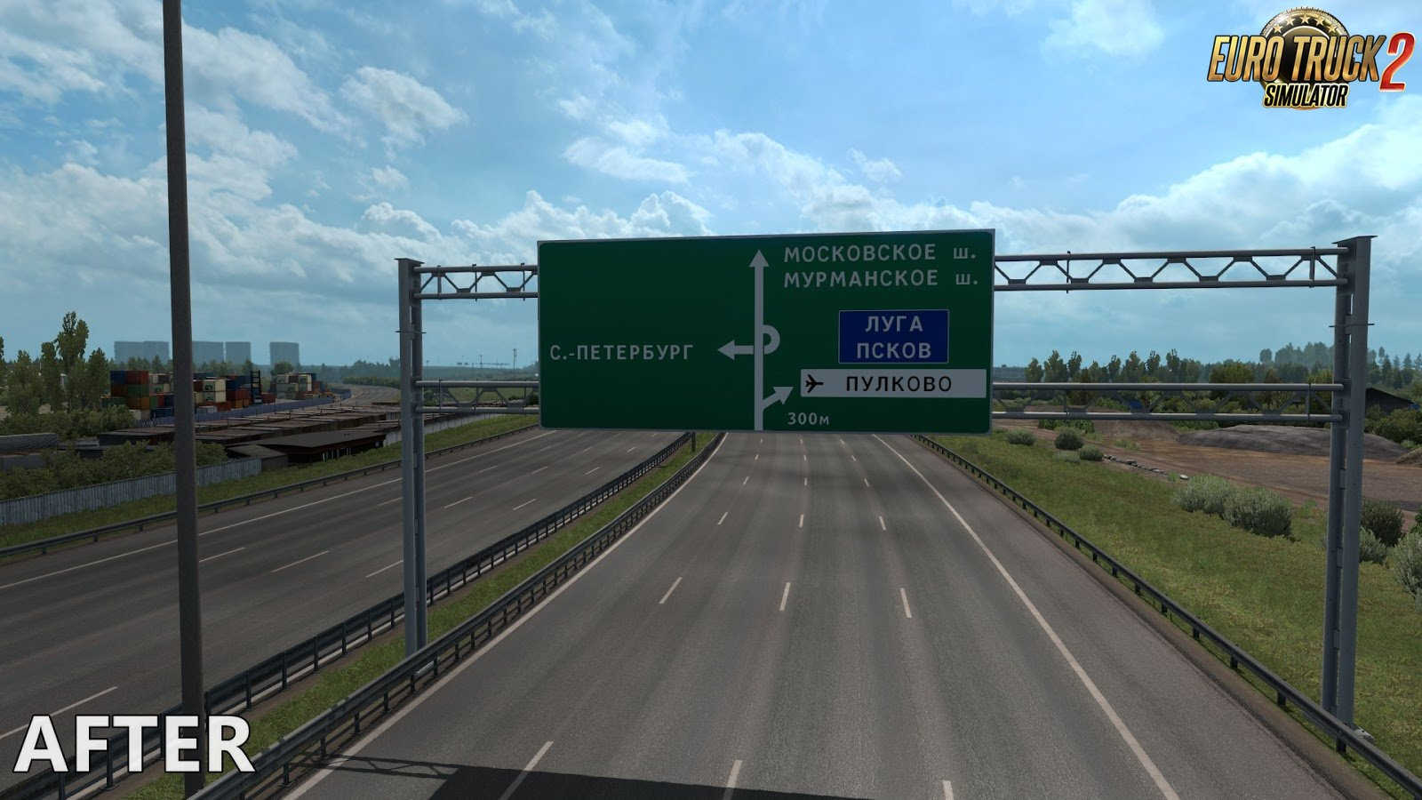 Realistic Signs for Ets2