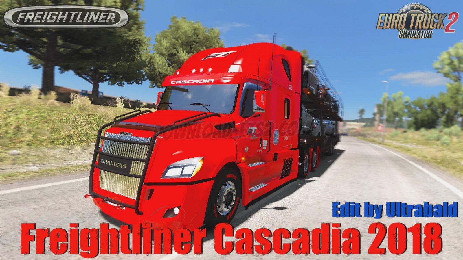 Freightliner Cascadia 2018 v1.6.1 Edit By Ultrabald (1.34.x)