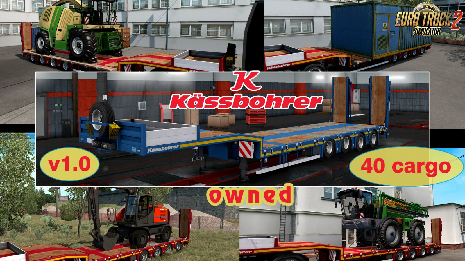 Ownable trailer Kassbohrer LB4E v1.0 by Jazzycat
