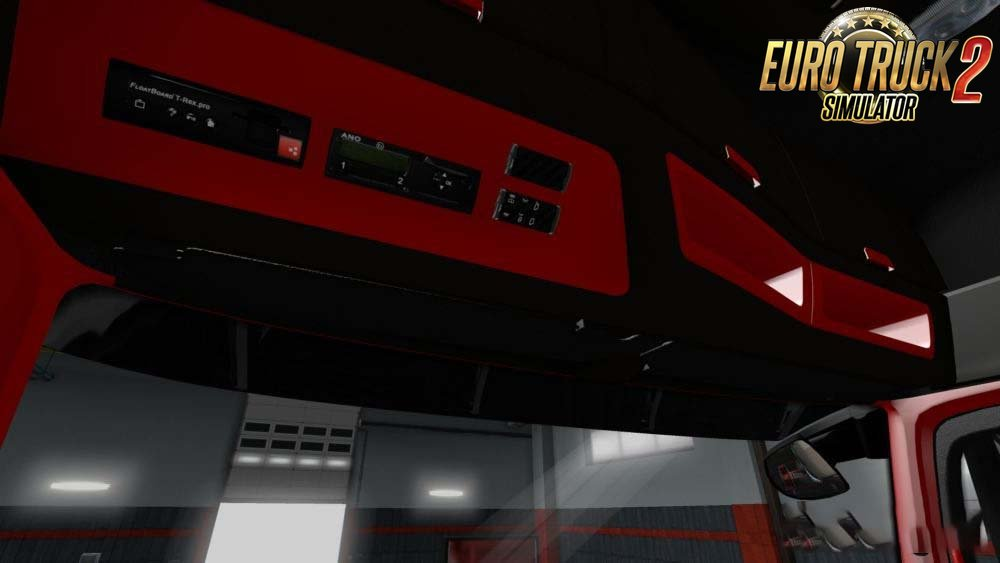 Mercedes MP4 Red Black LUX Interior by Miki