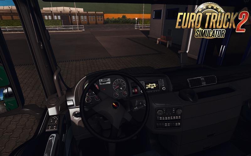 Lion's City Steering Wheel for Man trucks