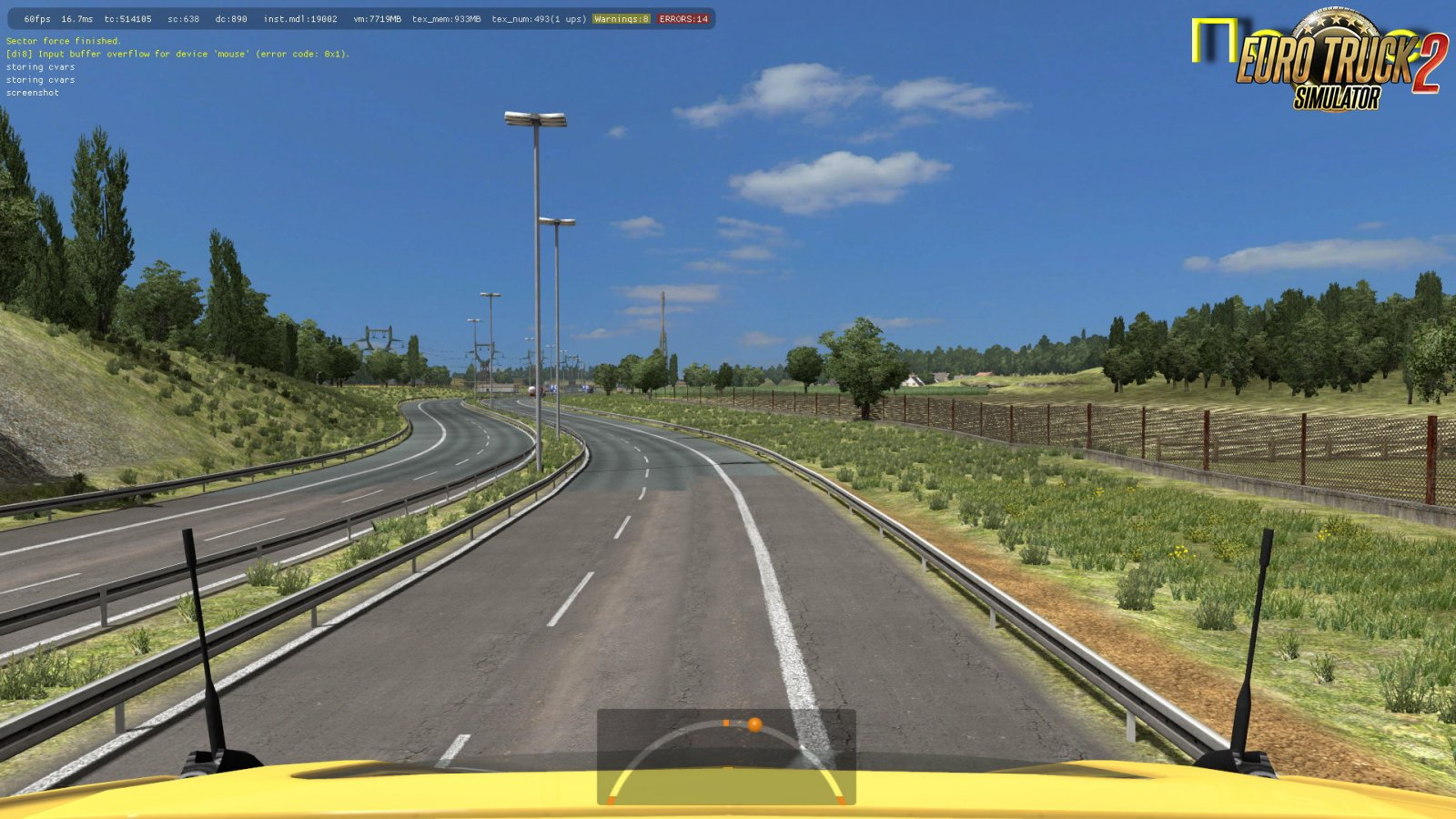 Weather-White Nights for Ets2 [1.34.x]