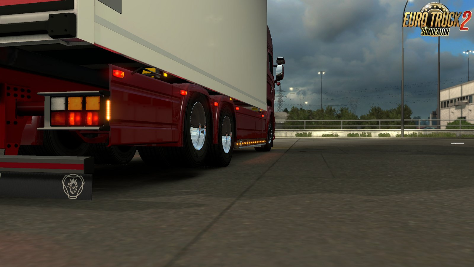 Accessories Pack for Tandem addon for RJL by Kast for Ets2