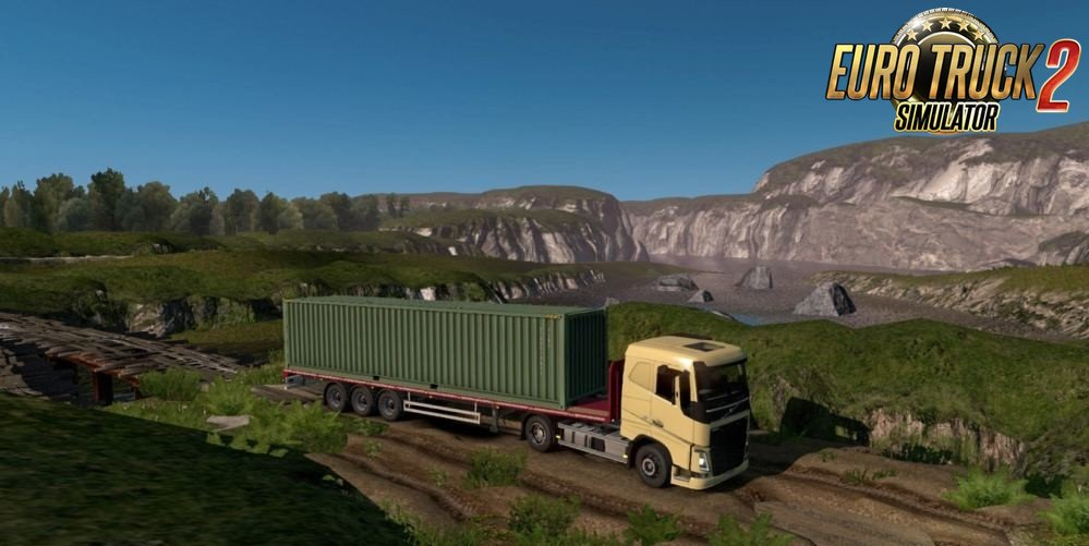 Republic of Aloma Map and Beyond the Baltic Sea for Ets2 [1.34.x]