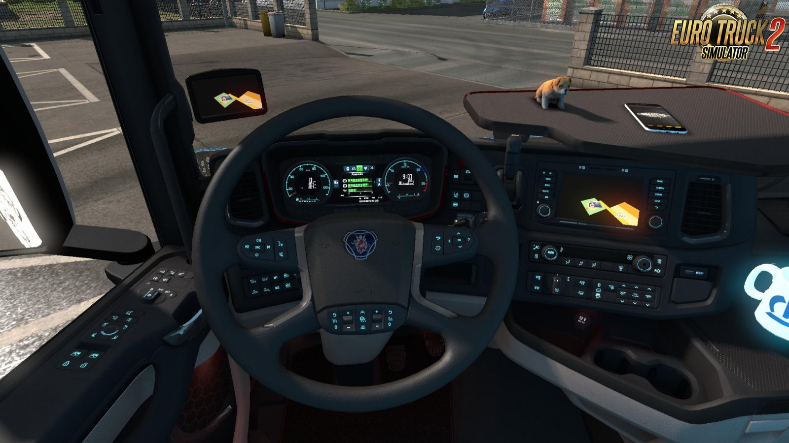 Dashboard lights for Scania S 2016 [1.34.x]