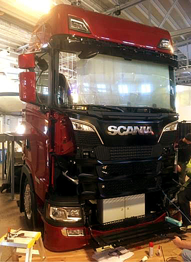 Scania presentation at Science Center