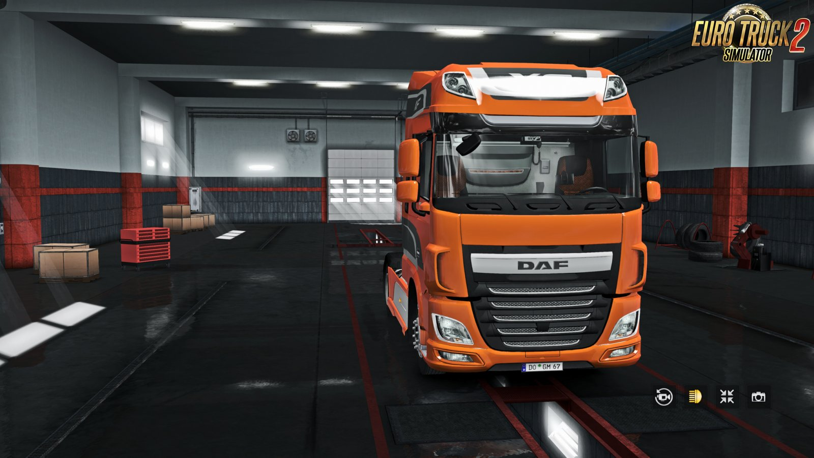 Exterior view reworked for DAF XF euro 6 v1.5.1