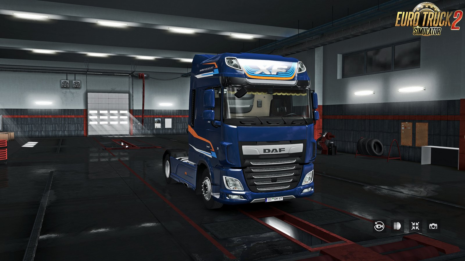 Exterior view reworked for DAF XF euro 6 v1.3