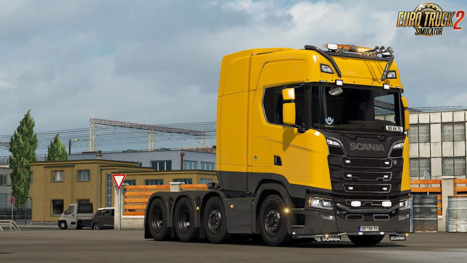 Scania Next Gen Low Deck Chasis for Ets2 [1.34.x]