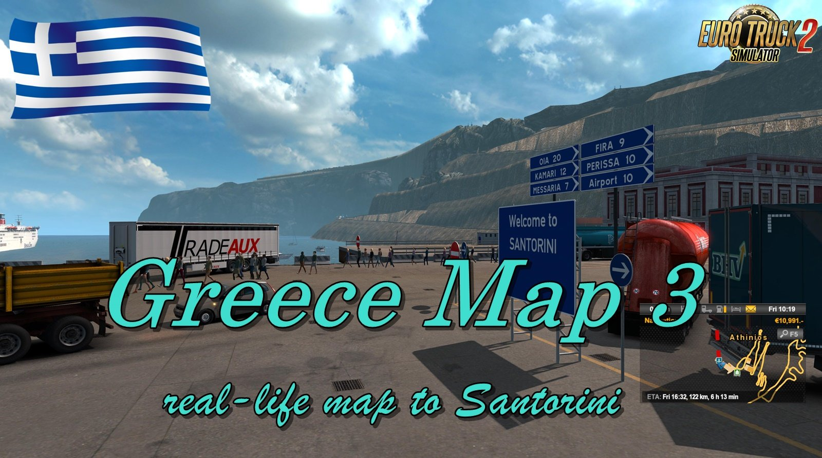 Greece Map 3 : Extending 1:1 real-life map to Santorini [1.33.x-1.34.x]