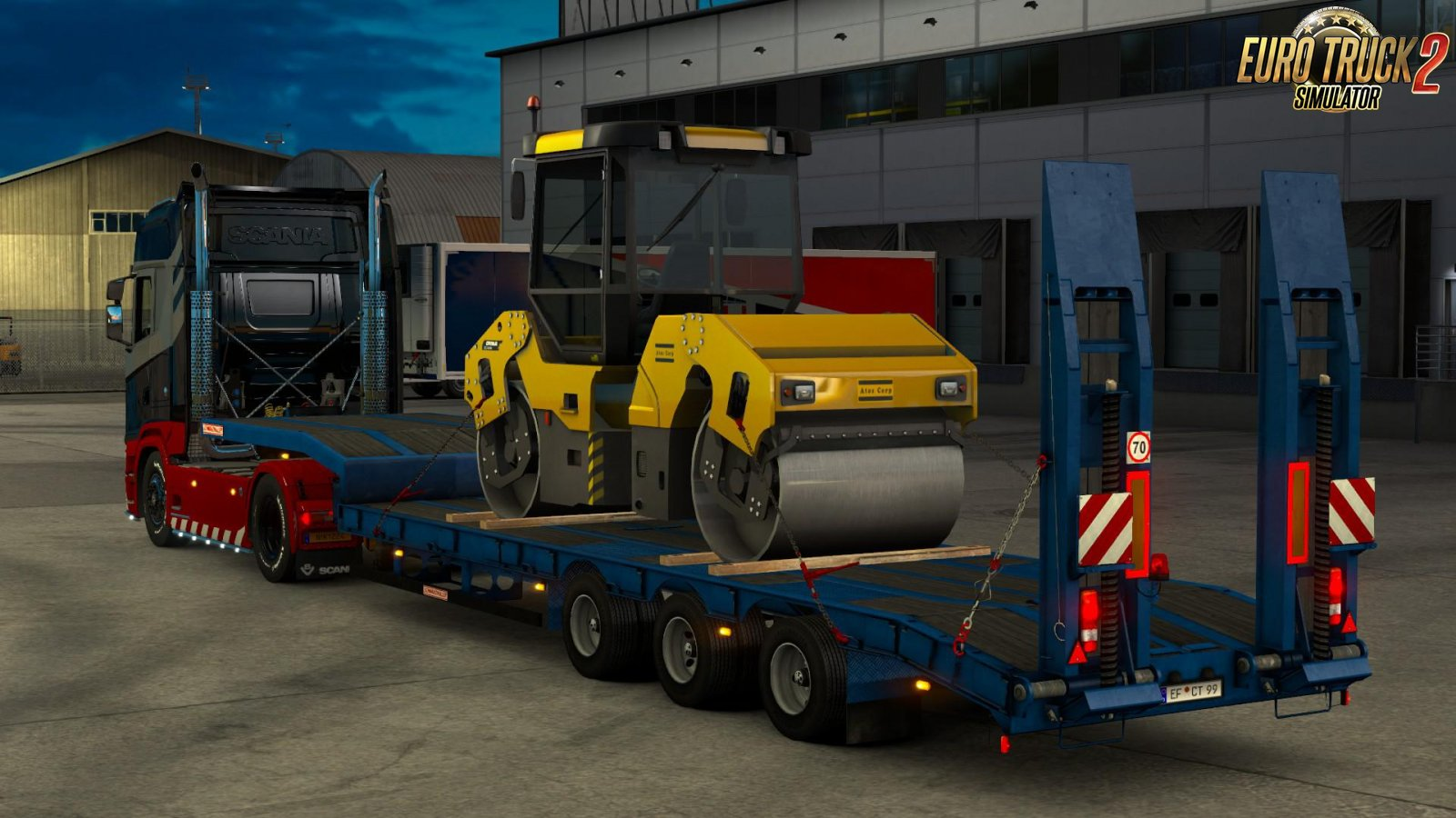 Overweight Trailers Owned DLC for Ets2 [1.34.x]