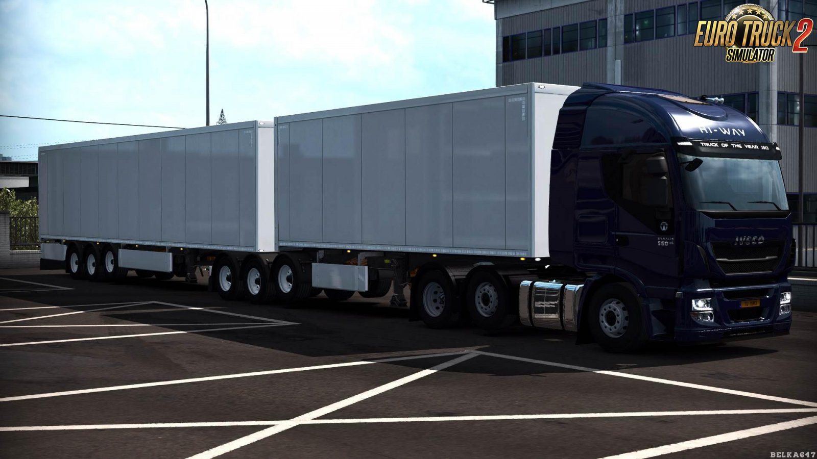 BC-No Country Double Hitch for Ets2 [1.34.x]