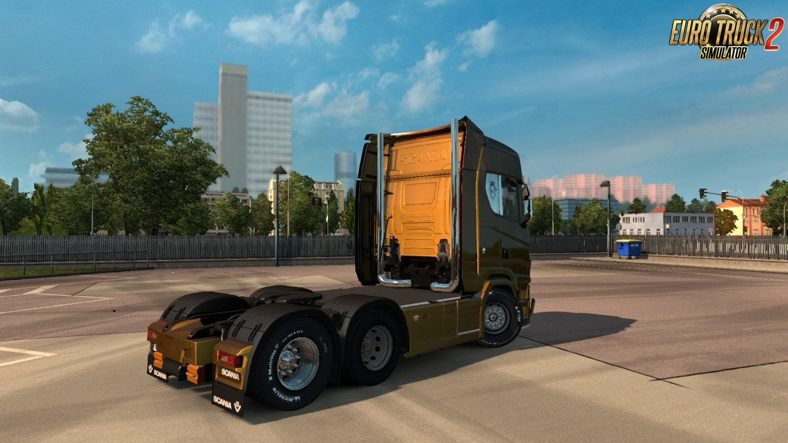 Exhaust Smoke for Scania Next Gen (HQ) [1.34.x]