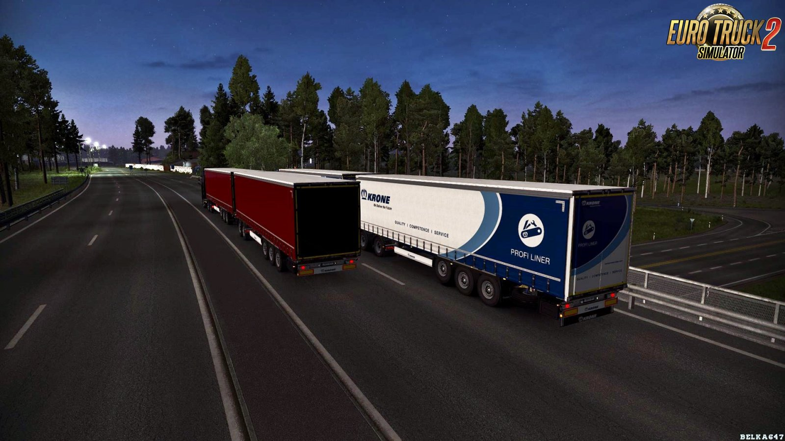 Krone in Ownership (Works at Truckers MP) for Ets2