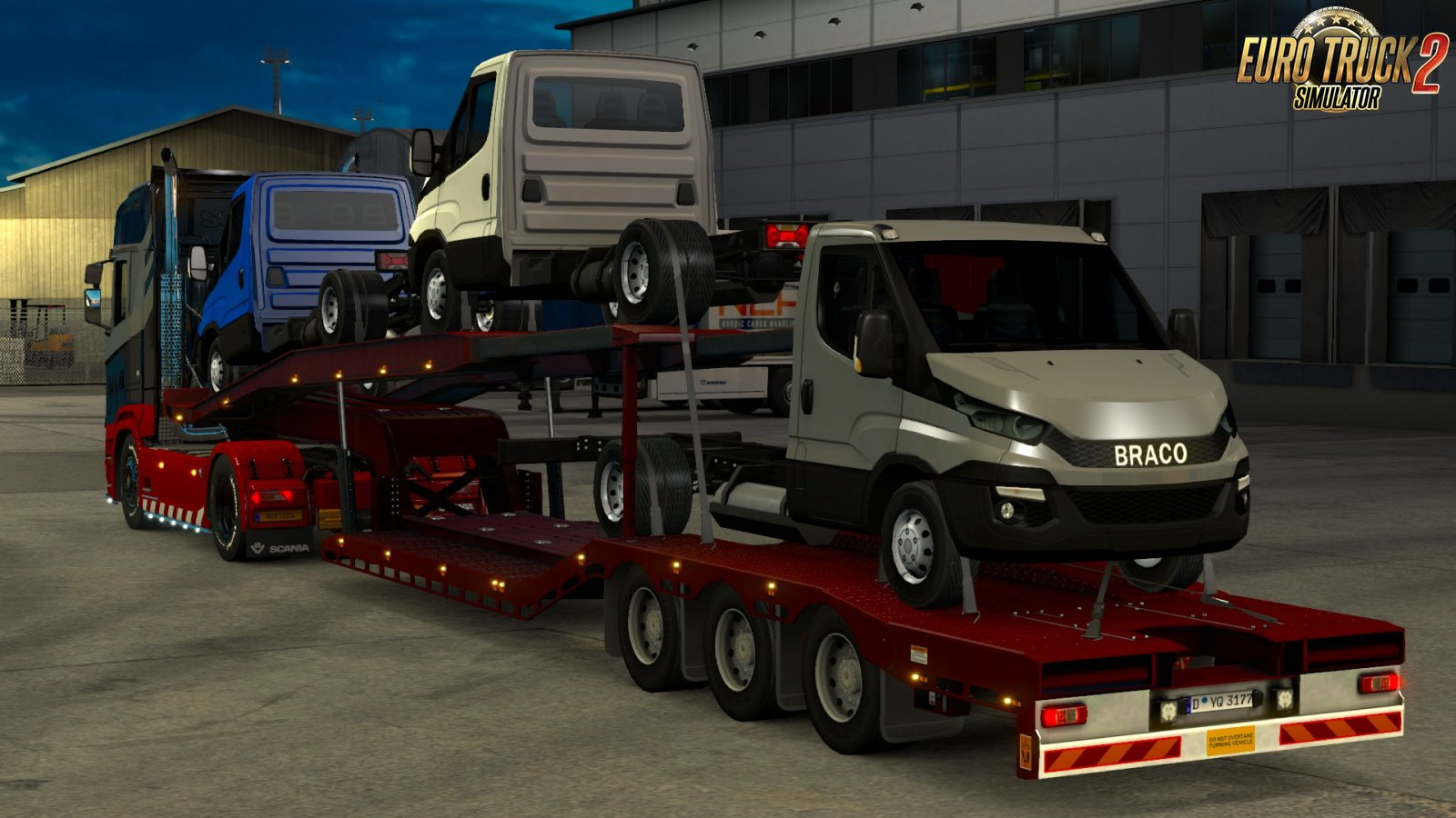 Purchased [TMP] Car Transporters for Ets2