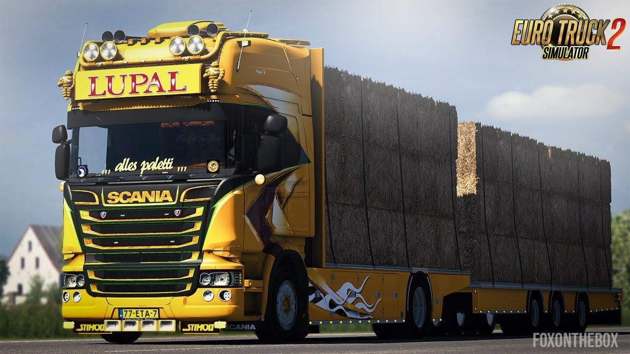 Scania Lupal & Trailer Owned (1.34.x) - Euro Truck Simulator 2