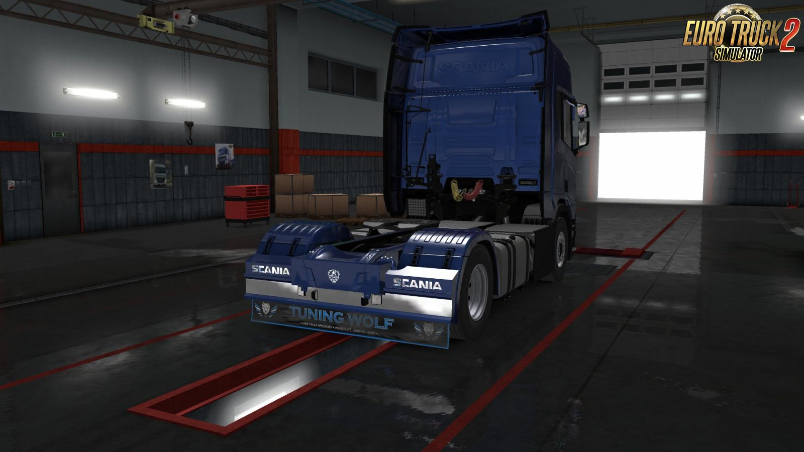 SCANIA Parts Mod by HRS-Mods
